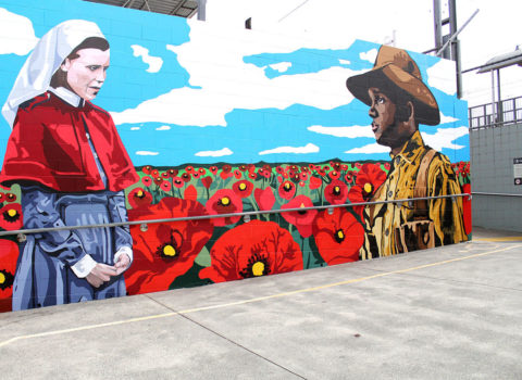 ANZAC MURAL – BEENLEIGH NORTH STATION