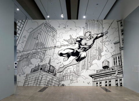 HOMAGE TO SPIDERMAN – GALLERY OF MODERN ART